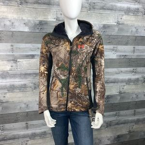 Under Armour Camo PINK Realtree hoodie NWT Sz. S